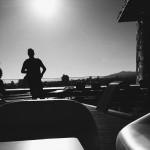 Barcelona_black & white / rooftop