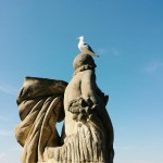 Barcelona_statue / on top