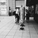 Barcelona_tourism / black & white